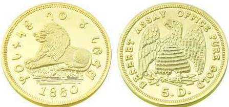 Fake Gold Mormon Coins – Replicas & Reproductions of Gold